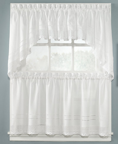 CLOSEOUT! CHF Peri Crochet Window Treatment Collection