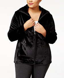 Ideology Plus Size Lux Jacket, Created for Macy's