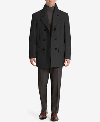 Lauren Ralph Lauren Luke Solid Wool Blend Peacoat Coats