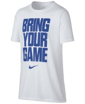 Nike Drifit GraphicPrint TShirt Big Boys (820)