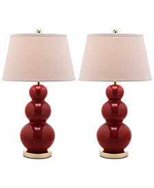 Safavieh Pamela Set of 2 Table Lamps