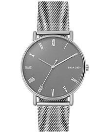 Skagen Unisex Signature Stainless Steel Bracelet Watch 40mm