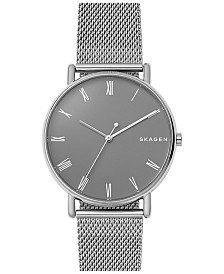 Skagen Signatur Stainless Steel Mesh Bracelet Watch 40mm