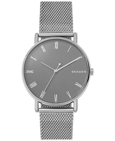 Skagen Unisex Signature Stainless Steel Bracelet Watch 40mm