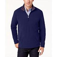 Club Room Men's Quarter-Zip Fleece Pullover