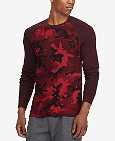 Polo Ralph Lauren Men's Camo Waffle-Knit Thermal Shirt