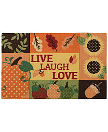 "Nourison Live Laugh Love 20"" x 30"" Accent Rug"