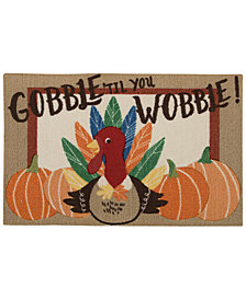 "Nourison Gobble 'Til You Wobble 20"" x 30""  Accent Rug"