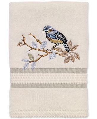 Avanti Love Nest Cotton Embroidered Hand Towel