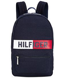 Tommy Hilfiger Men's Logo Flag Backpack