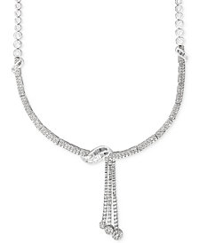 Classique by EFFY® Diamond Lariat Necklace (4-1/8 ct. t.w.) in 14k White Gold