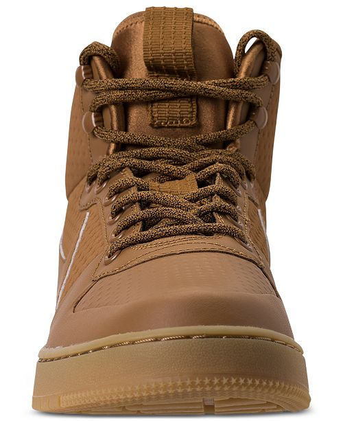 Sneakers Mid Finish Winter from Court Borough Casual Men's Outdoor YqT6wnE