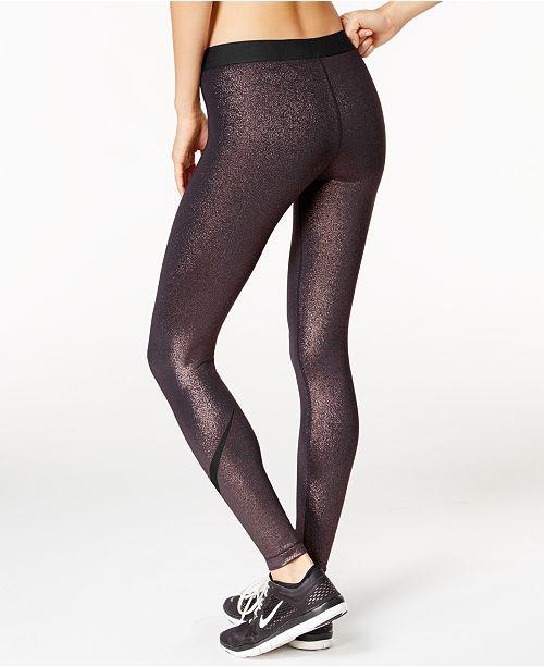 93ca986a5c57 Nike Pro Cool Sparkle Dri-FIT Leggings   Reviews - Pants   Capris ...