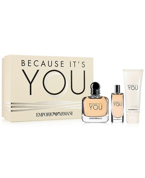 Emporio Armani 3-Pc. Because It s You Gift Set - All Perfume ... f3df135e52b6