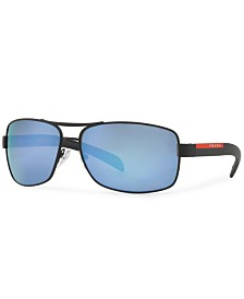 Prada Linea Rossa Polarized Sunglasses , PS 54IS