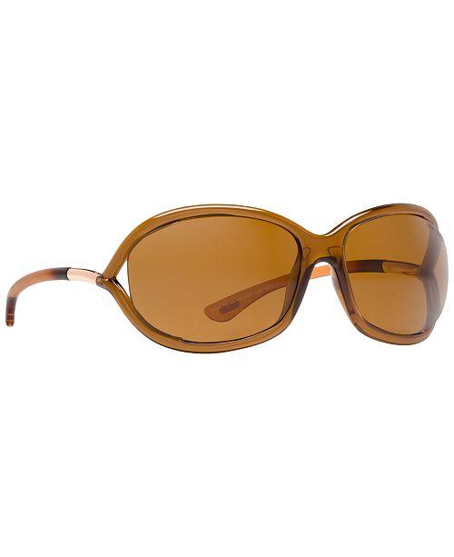 84af9e012b3 Tom Ford JENNIFER Polarized Sunglasses