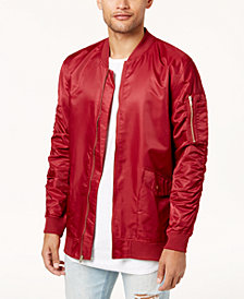 Jaywalker Men's Nylon Baseball Jacket
