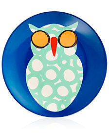 Coton Colors Owl Salad Plate