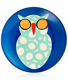 Coton Colors Owl Salad Plate
