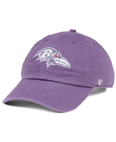 '47 Brand Women's Baltimore Ravens Pastel CLEAN UP Cap