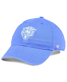 '47 Brand Women's Chicago Bears Pastel CLEAN UP Cap