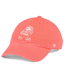 '47 Brand Women's Cleveland Browns Pastel CLEAN UP Cap