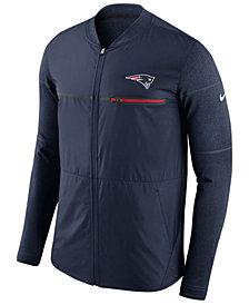 Nike Men's New England Patriots Shield Hybrid Jacket