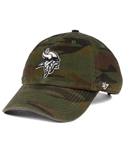 '47 Brand Minnesota Vikings Regiment CLEAN UP Cap