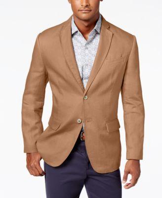 Men's Linen 2-Button Blazer, Created for Macy's