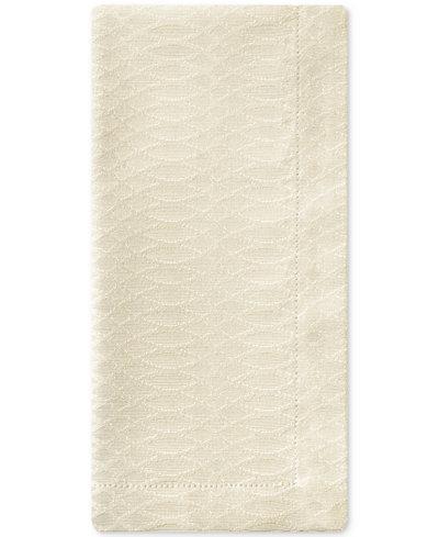 Waterford Essentials Cordelia Ivory 2-Pc. 21'' x 21'' Napkin Set