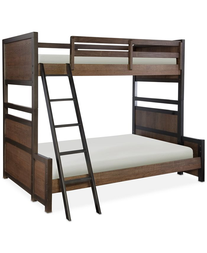 Furniture Fulton County Kids Twin Over Full Bunk Bed Reviews Furniture Macy S