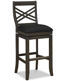 Mason Memory Foam Bar Stool, Quick Ship