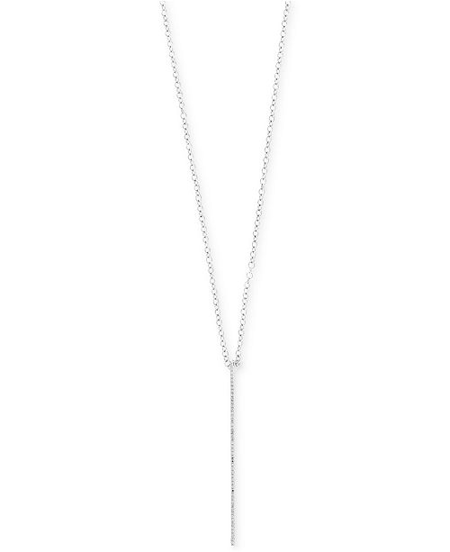 a83d58a8647c Diamond Bar Pendant Necklace - Necklace Wallpaper Gallerychitrak.Org
