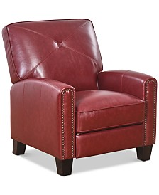 Leon Leather Recliner, Quick Ship