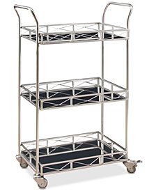 Laney 3-Tier Bar Cart, Quick Ship