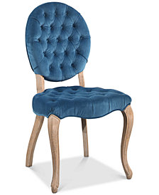 CLOSEOUT! Nadia Round Back Dining Chair, Quick Ship