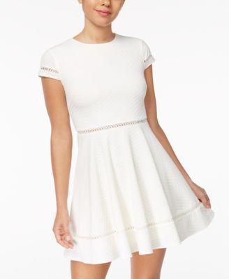 White Day Dresses for Juniors