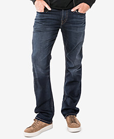 Silver Jeans Co. Men's Grayson Easy Fit Straight Stretch Jeans