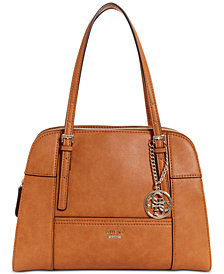 GUESS Huntley Medium Cali Satchel