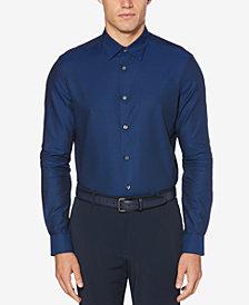 Perry Ellis Men's Jacquard Printed Shirt