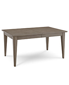 Tribeca Grey Expandable Dining Table, Created for Macy's