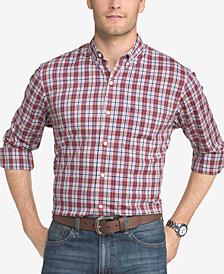 IZOD Men's Advantage Performance Gingham Shirt