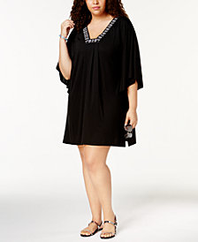 Dotti Plus Size Luxe Tunic Cover-Up