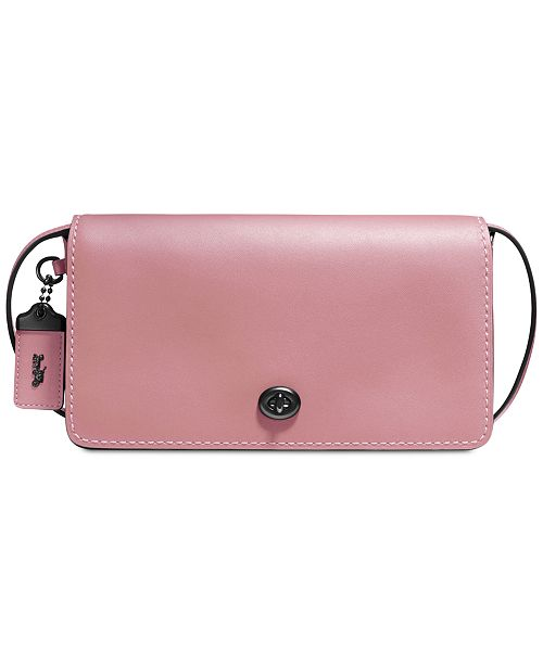 572a181a COACH Dinky Crossbody in Glovetanned Leather & Reviews - Handbags ...