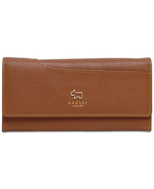 Radley London Large Flapover Leather Wallet