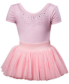 Flo Dancewear Diamante Leotard & Skirt, Little Girls & Big Girls