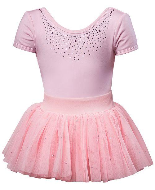 Flo Dancewear Diamante Leotard & Skirt, Little Girls & Big Girls