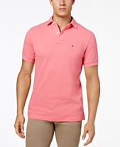 87bb881fc68 Tommy Hilfiger Men s Classic-Fit Ivy Polo