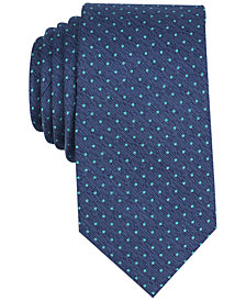 Perry Ellis Men's Beazley Dot Silk Tie