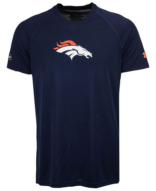 buy popular dfdc9 0bc79 Under Armour Men's Denver Broncos Combine Logo T-Shirt ...